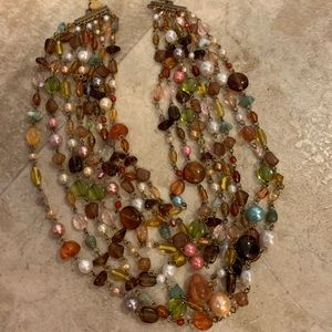 gorgeous chunky necklace by lia sophia